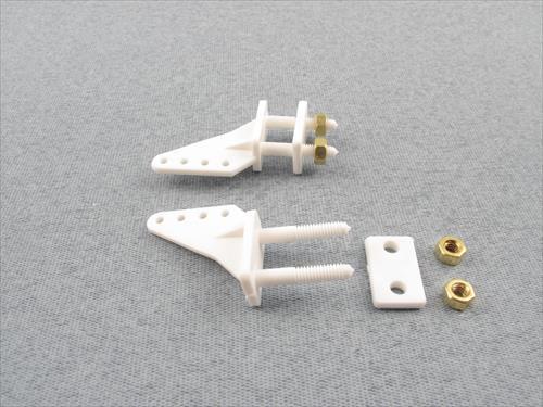 Control Horn 6 BA nuts (pk2)