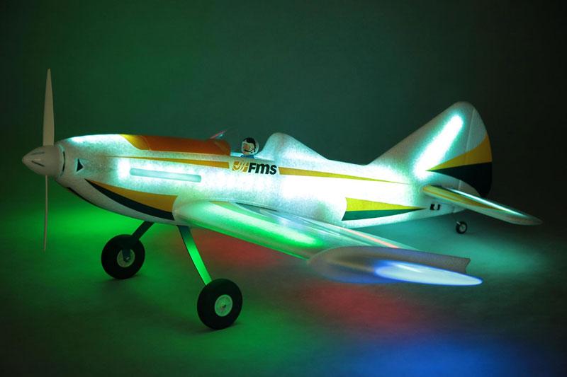 FMS 1090MM LED FIREFLY ARTF W/O TX/RX/BATT