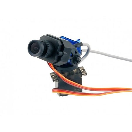 720P  HD FPV Camera with Pan and Tilt