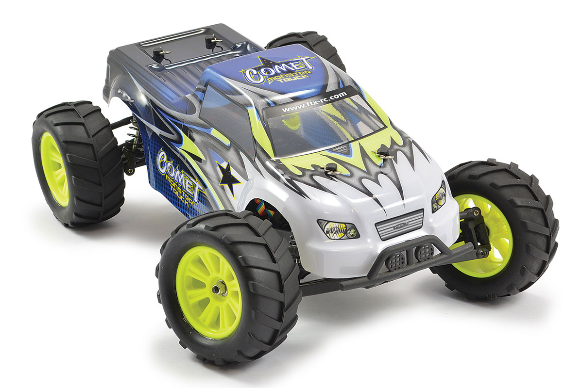 FTX COMET 1/12 BRUSHED MONSTER TRUCK 2WD READY-TO-RUN
