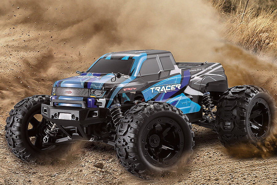 FTX TRACER 1/16 4WD MONSTER TRUCK RTR - BLUE