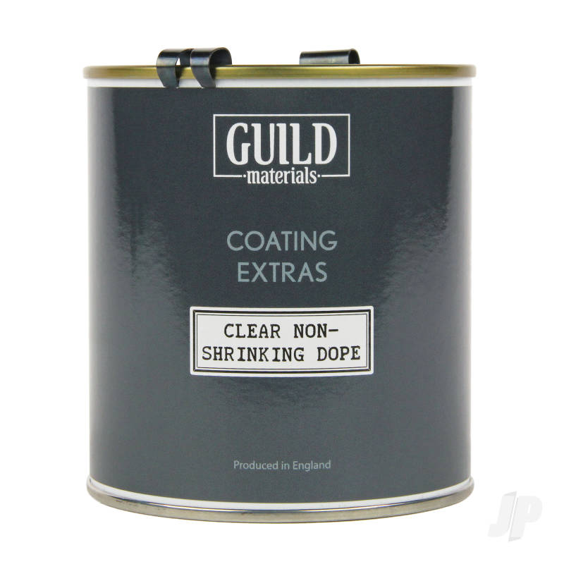 Guild Lane Coating Extras Clear Non-Shrinking Dope (500ml Tin)