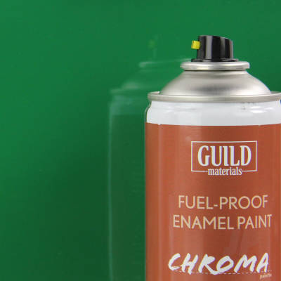 Enamel Fuel proof Paint Gloss Green (400ml Aerosol)