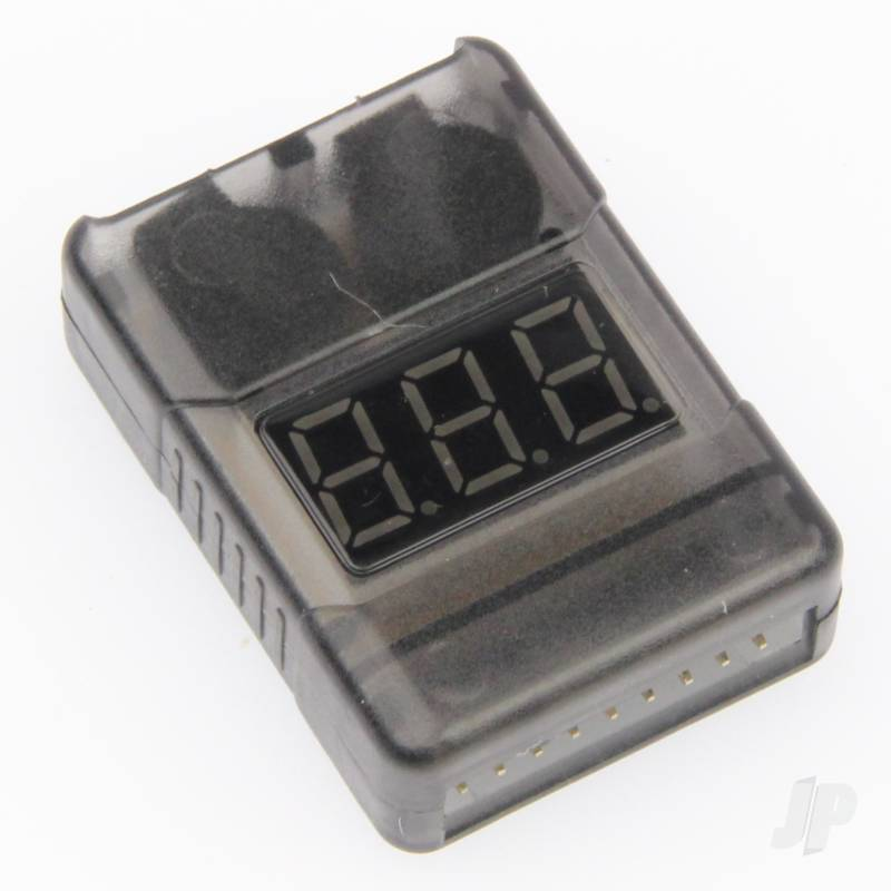 GT Power 2-8S Battery Meter and Low Voltage Alarm