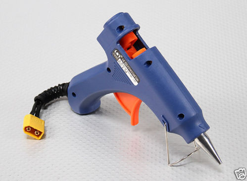 12V Battery Powered Hot Glue Gun