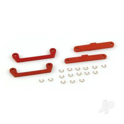 Hinge Pin Brace Set, BC, Orange (Dominus)