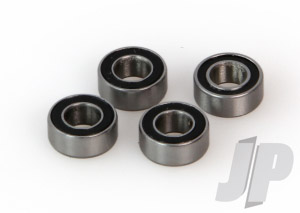 5 x 10 x 4 Rubber Sealed Bearings (4)