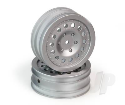 Front Wheel Silver (Pk2)