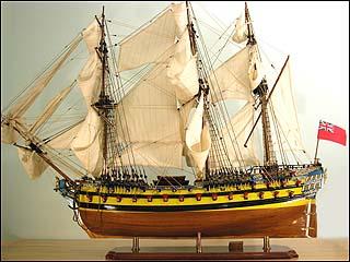 HMS Bellona Pre-Painted Starter Boat Kit