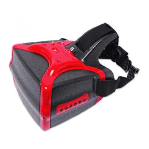 HeadPlay HD FPV Video Goggles Red