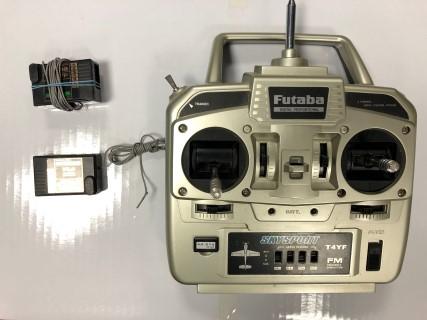 Futaba 40mHz 4ch radio set