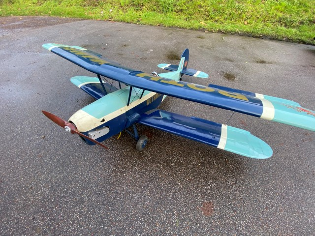 Stampe biplane with RCGF 26cc