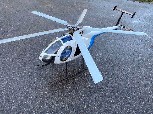 Electric Hughes MD500 Scale