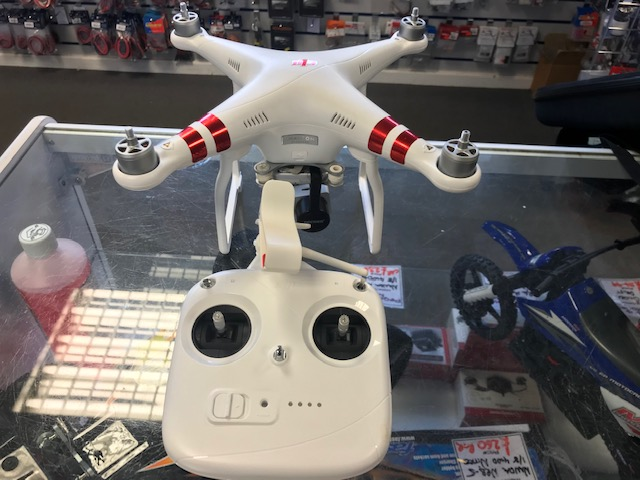 DJI Phantom 3 Standard in case