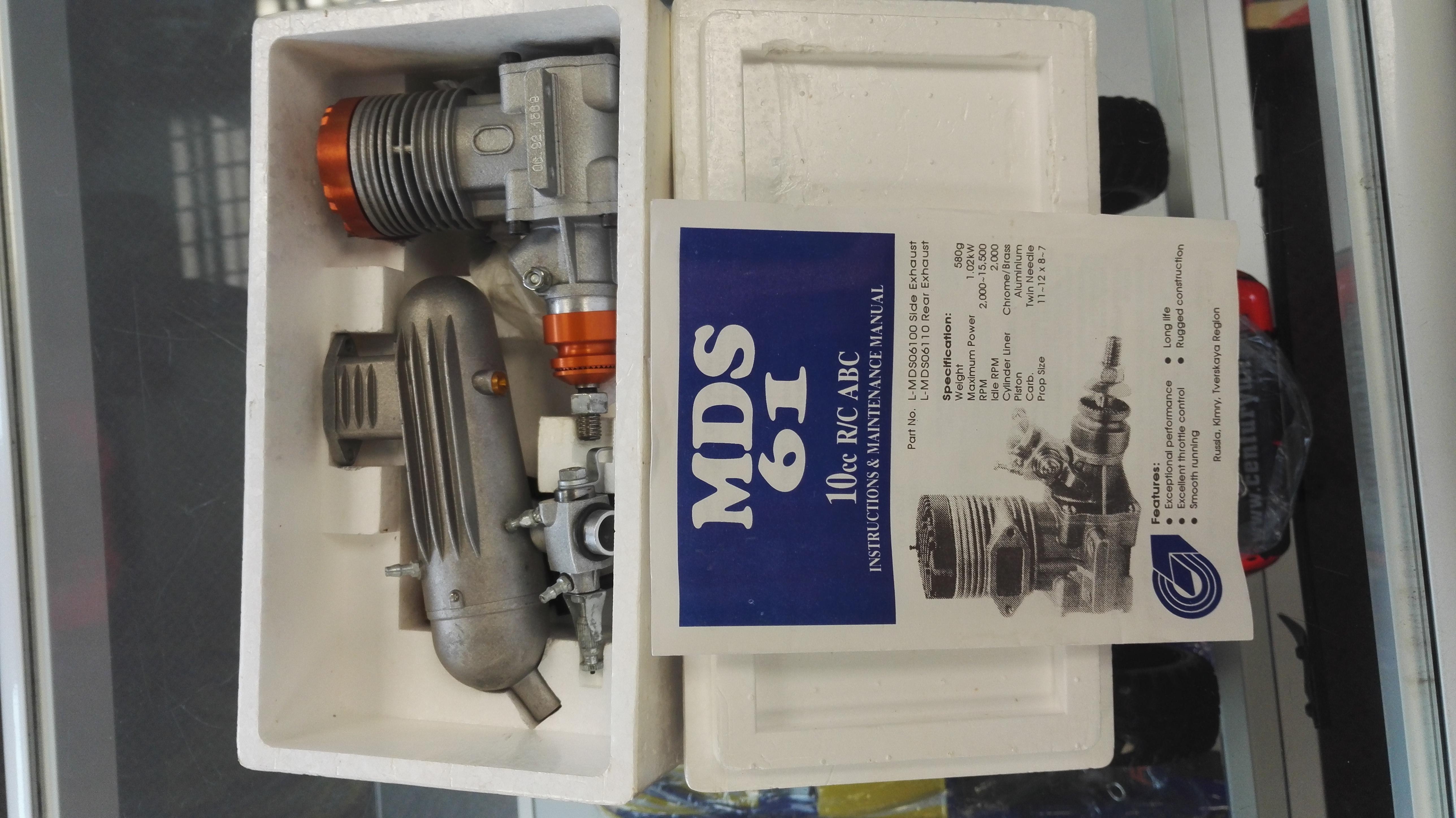 MDS .61 glow engine