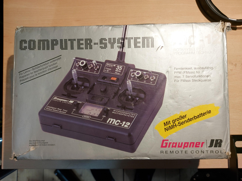 Graupner MC-12 40Mhz Transmitter