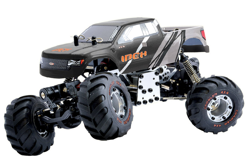 FTX Ibex 1/24 RTR Rock Crawler Grey/Black