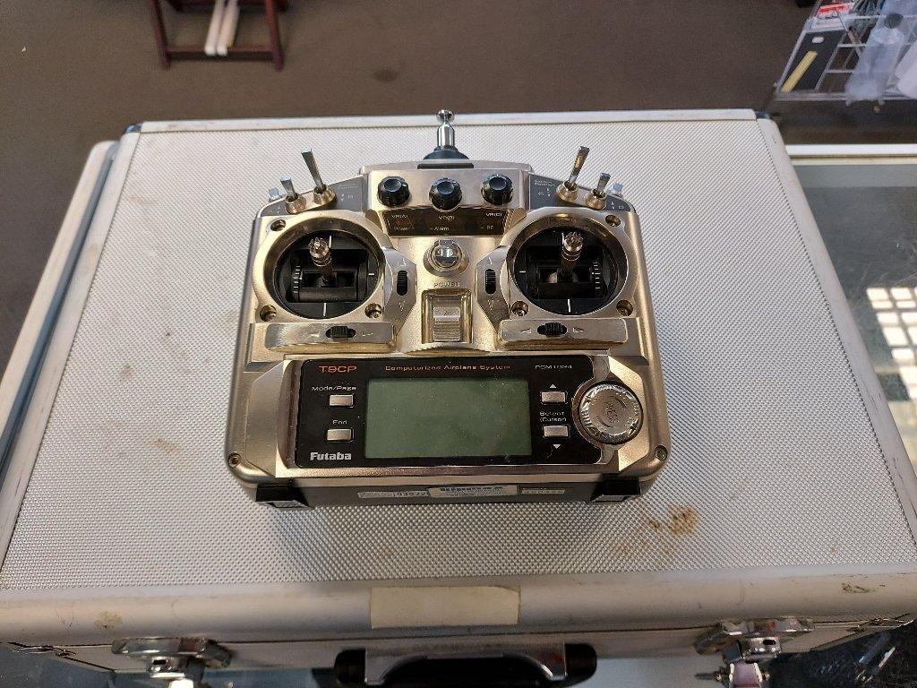 Futaba T9CP Transmitter in case