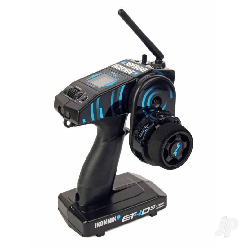 Ikonnik ET4DS 4-Ch 2.4GHz Xenon (Xe) Radio - LCD (Inc.RX)