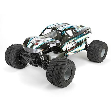 MONSTER TRUCK XL RTR AVC: 1/5TH 4WD (White)