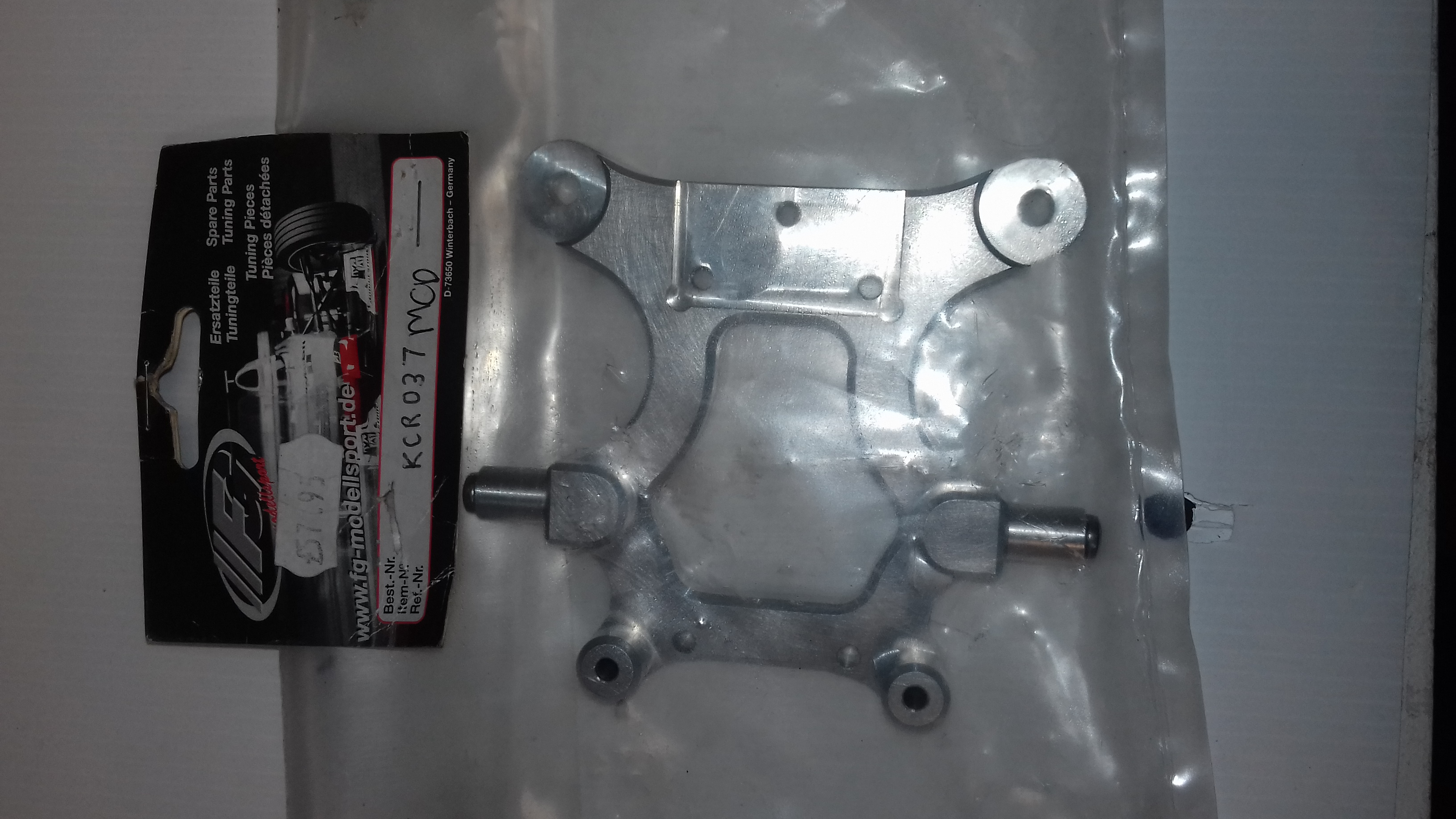 KCR Alloy Outer Bulkhead for MCD Pro-Line Rally Car