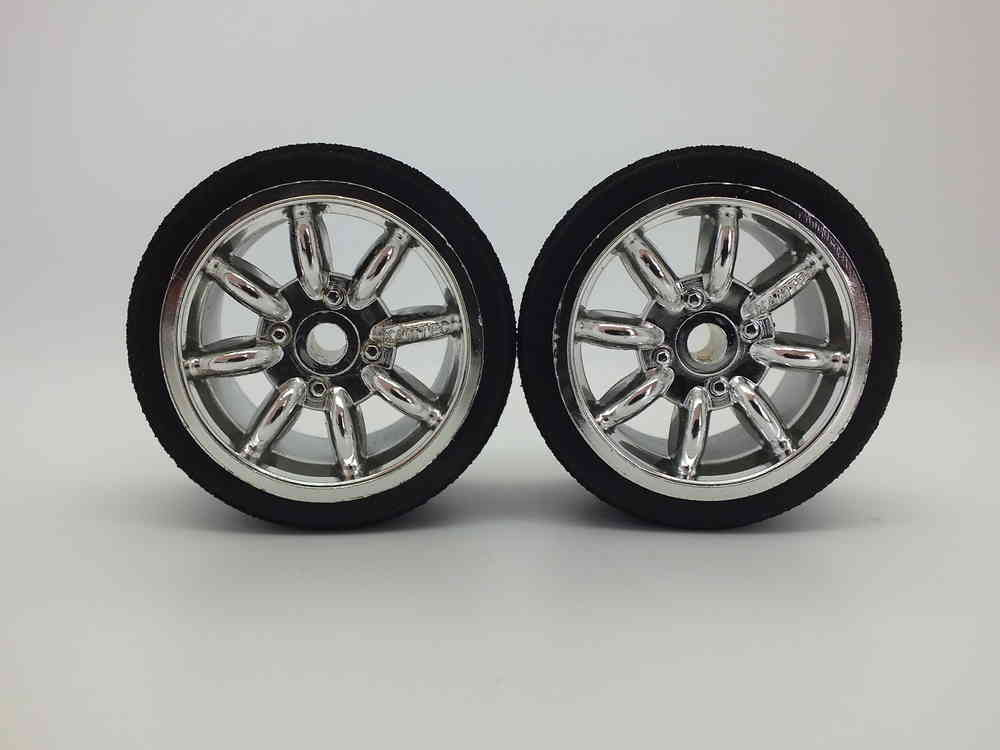 Kamtec Chrome Minilite Wheel Set (Pink/46)