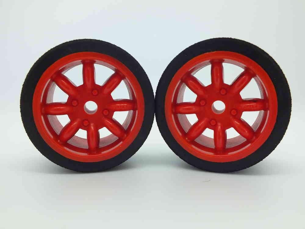 Kamtec Red Minilite Wheel Set (Pink/46)