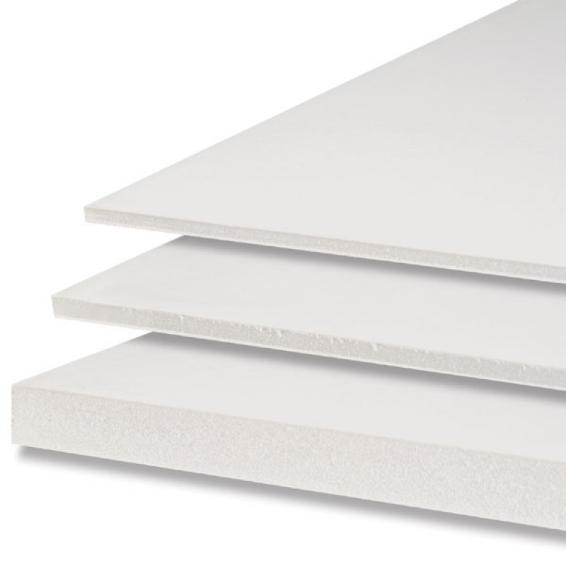 White Foam Board 3mm x 508mm x 762mm