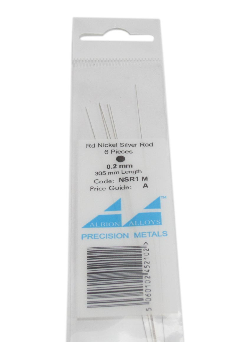 0.2mm Nickel Silver Rod