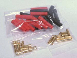 3.5mm Gold Connectors (10 Pairs)