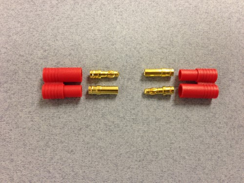 3.5mm Gold 2prs w/polarity housing