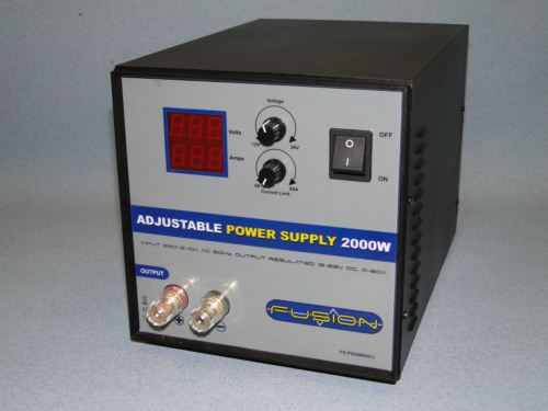 Fusion 2000W Adjustable 12~26V Power Supply