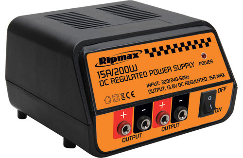 Ripmax Power Supply 13.8v 15A 200W
