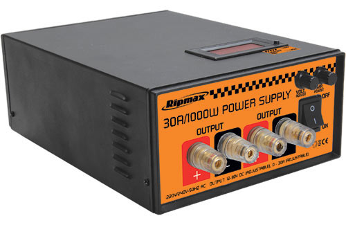 Ripmax Power Supply 12-30v 30A 1000W