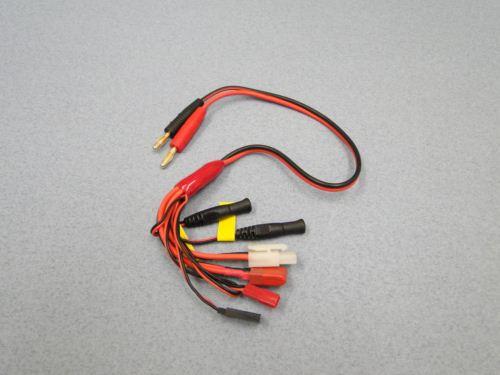 Charge lead 4mm Tamiya  Deans  BEC  Rx Fut/JR Tx