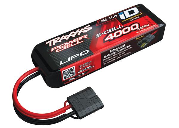 Traxxas 4000mAh 11.1V 3S 25C LiPo ID BatteryO-TRX2849X