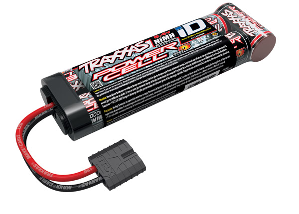 Traxxas Battery, Series 5 Power Cell ID, 5000mAh (NiMH, 8.4V flat)O-TRX2960X