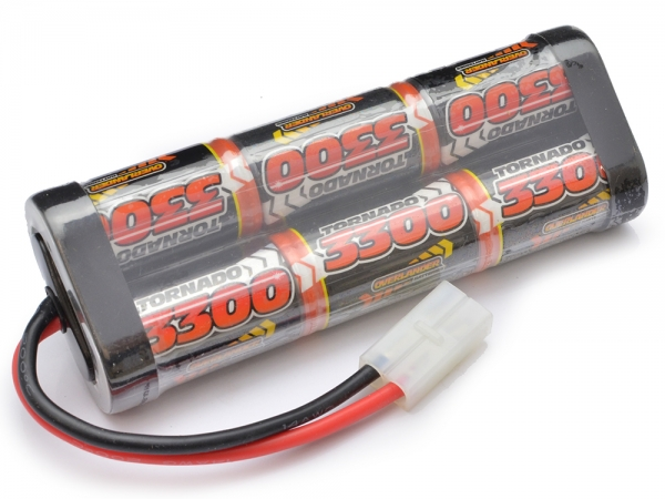 Nimh Battery Pack SUBC 3300mah 7.2v (Tamiya)