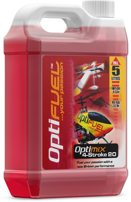 Optifuel Optimix 20% 4 Stroke Fuel 5 Litres