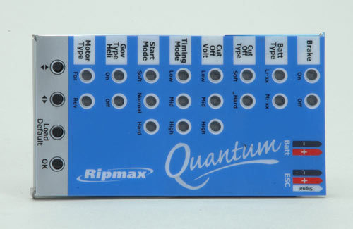 Ripmax Quantum II ESC Program Card