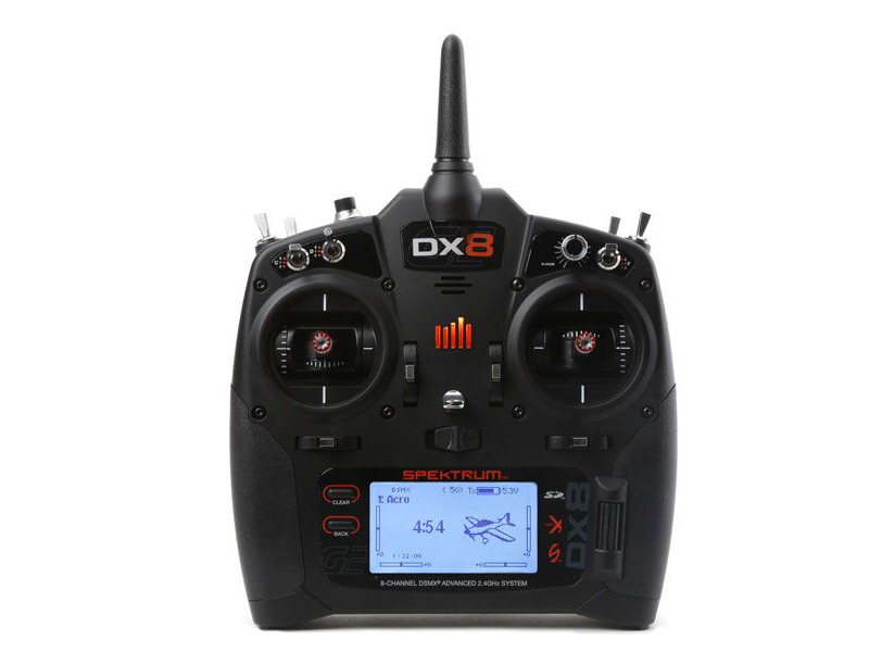 DX8 G2 System with AR8010T Receiver (Mode 2)