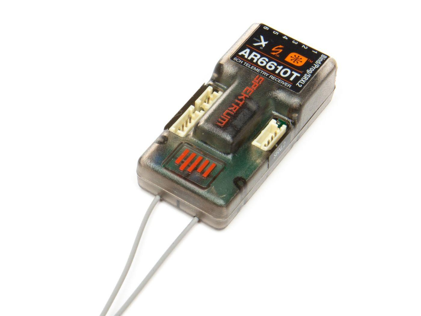AR6610T 6 Channel DSMX Telemetry Receiver