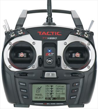 Tactic TTX650 6 Channel Computer Radio Mode 2 with Rx