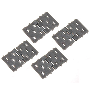 PINNED HINGES FOR AILERON / ELEVATOR (4pc)