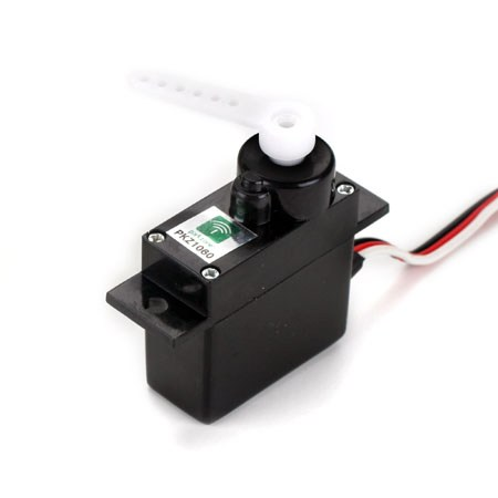 T-28 RADIAN PRO & SPITFIRE MINI SERVO (3W) WITH ARMS SHORT LEAD