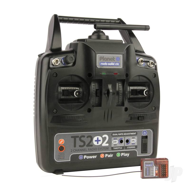 Planet TS2+2 2.4GHz 2-Channel Stick Transmitter