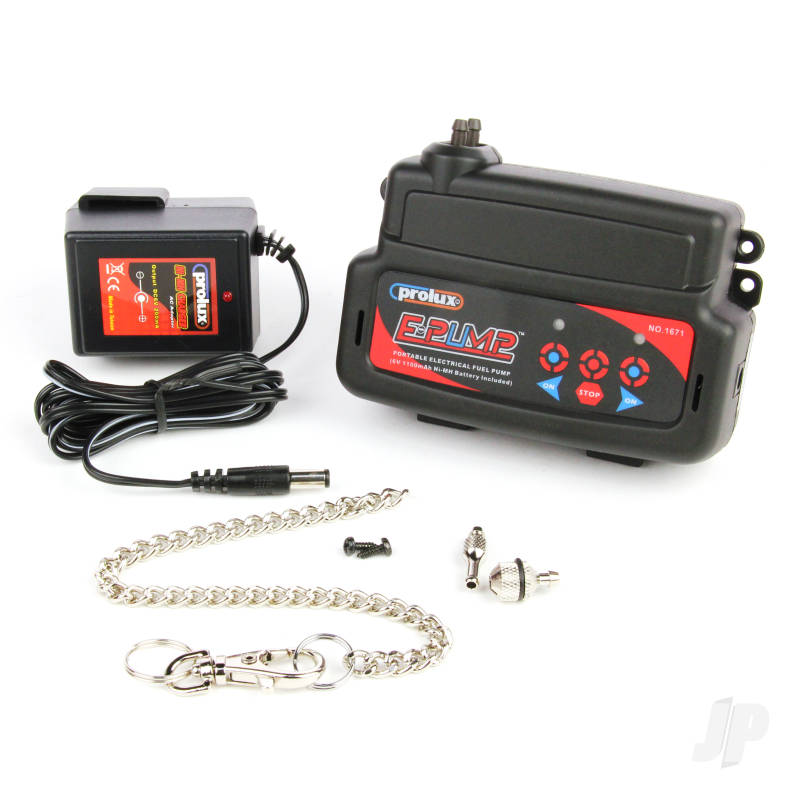 Electric Fuel Pump with Built-in Battery and UK Charger