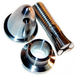 Prop Adapter Domed 3.2 mm shaft - 1 pc