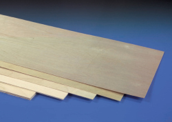PLYWOOD 300 x 900 x 0.8mm (1/32)