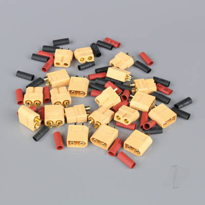 XT60 Pairs including Heat Shrink (10pcs)